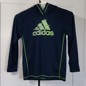 Adidas boy hoodie size 7